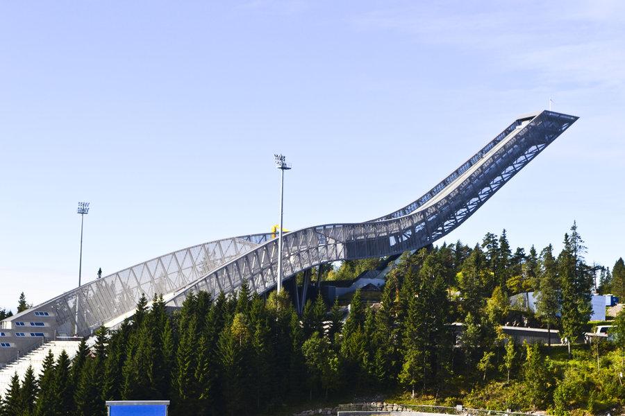 VisitOslo Holmenkollen Ski Jump