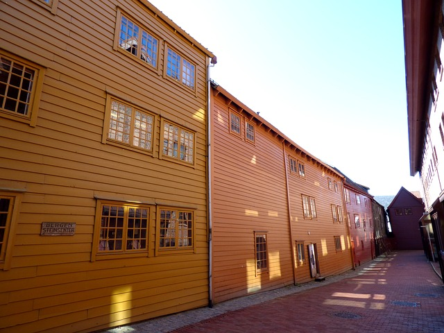bergen walking tour